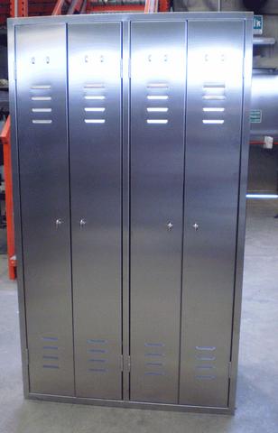 Armadietti acciaio inox usati idee per la casa for Arredamento acciaio inox