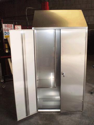 Offerte arredamento in acciaio INOX - Armadietto ...